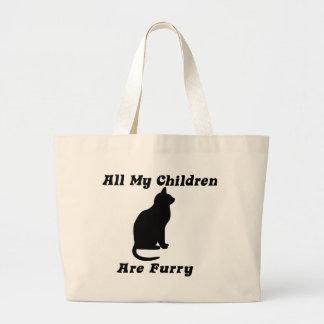 tous mes enfants sont velus grand sac