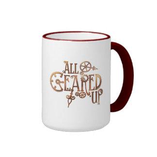 Tous ont embrayé la tasse de Steampunk