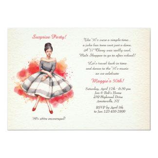 Tous ont habillé l'invitation carton d'invitation  12,7 cm x 17,78 cm