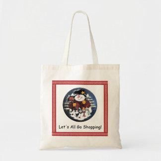 Tous partons Fourre-tout de achat Tote Bag