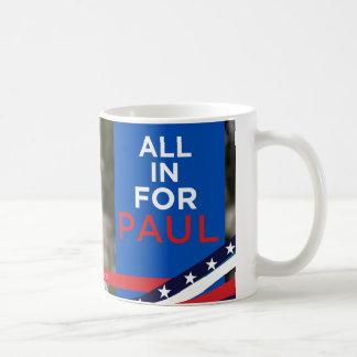 Tous pour Paul - tasse de visage