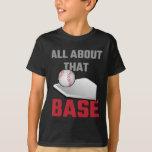 Tout au sujet de ce base-ball bas t-shirts