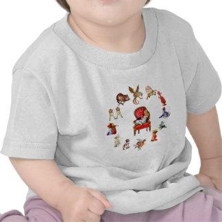 Tout autour d'Alice par le psyché T-shirts