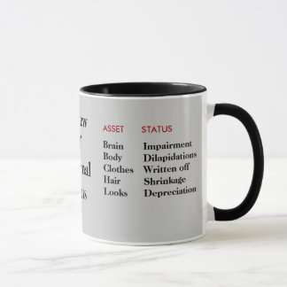Tout bilan d'anniversaire - Personalisable Mug