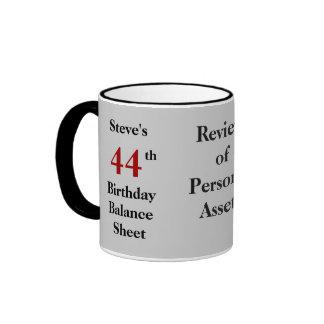Tout bilan d'anniversaire - Personalisable Tasses À Café