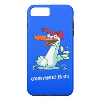 tout est bande dessinée drôle correcte de canard coque iPhone 7 plus