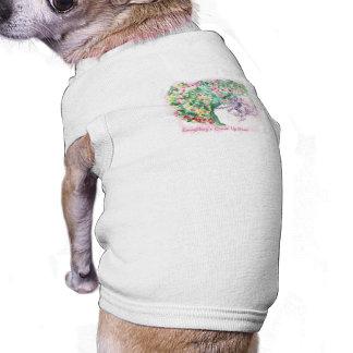 Tout est Comin vers le haut de T-shirt d'animal T-shirt Pour Chien