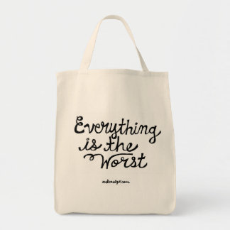 Tout est le plus mauvais sac fourre-tout
