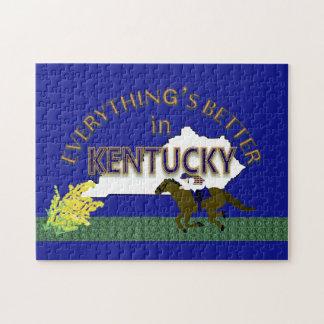 Tout est meilleur dans le puzzle du Kentucky