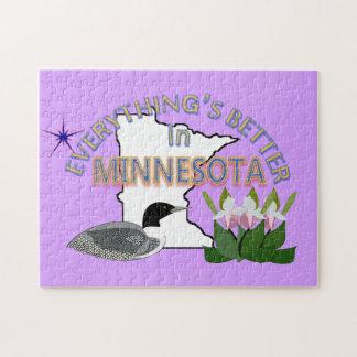 Tout est meilleur dans le puzzle du Minnesota