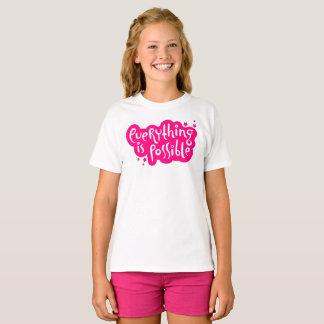 Tout est possible t-shirt