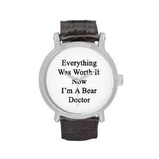 Tout l a valu maintenant que je suis un docteur montres