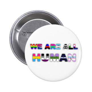 Tout le blanc humain badges