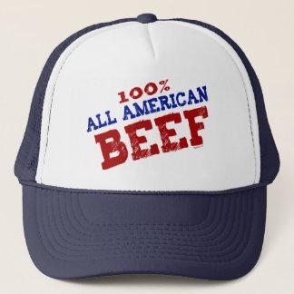 Tout le casquette américain de boeuf