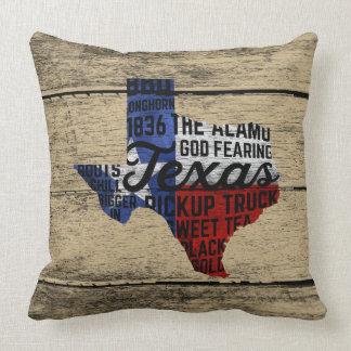 Tout le coussin du Texas de choses