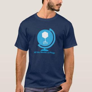 Tout le monde est un T-shirt bactériophage