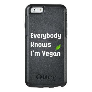 Tout le monde sait que je suis cas végétalien de coque OtterBox iPhone 6/6s