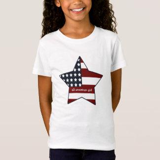 Tout le T-shirt américain de fille
