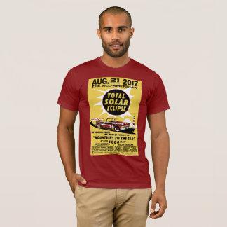 Tout le T-shirt d'éclipse solaire de Carolinas