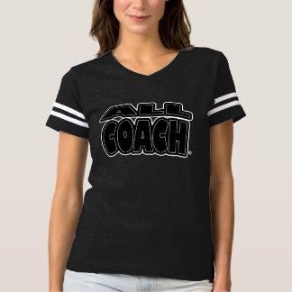 Tout l'entraîneur ; Noir-Expression tout T-shirts
