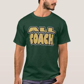 Tout l'entraîneur ; Or-Lettres tout T-shirts de