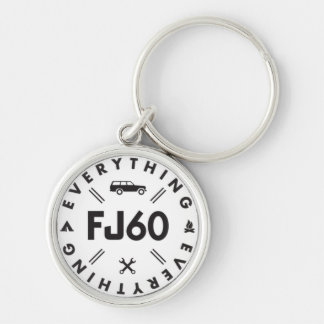 Tout porte - clé du logo FJ60 Porte-clés