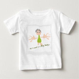 Tout que j'ai besoin est une grande étreinte - t-shirt pour bébé