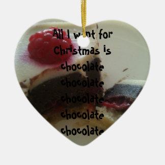 Tout que je veux pour Noël est ornement de