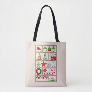Tout sac fourre-tout à Noël de Noël