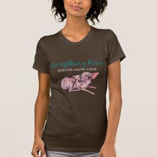 Tout tee - shirt d'obscurité de Rosie T-shirt