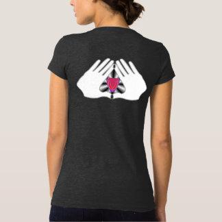 Toute la langue moqueuse : Le T-shirt des femmes
