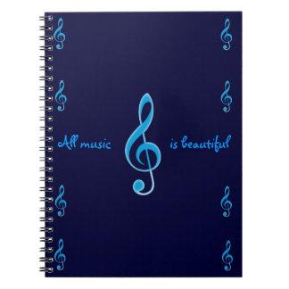 Toute la musique est beau carnet