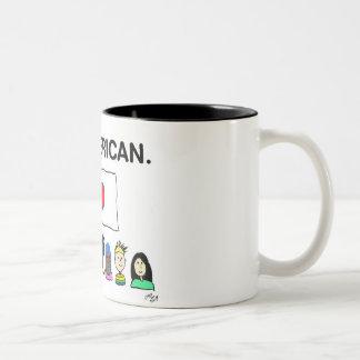 Toute la tasse de café américaine