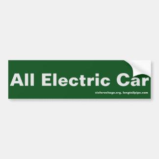 Toute la voiture électrique - adhésif pour autocollant de voiture