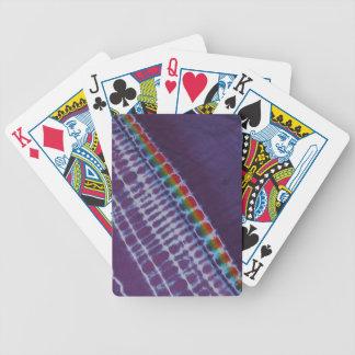 Toutes les cartes de jeu de bicyclette de colorant jeux de cartes