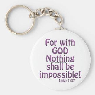 toutes les choses sont possibles porte-clés