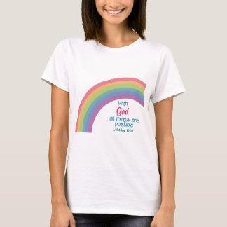 Toutes les choses sont possibles t-shirt