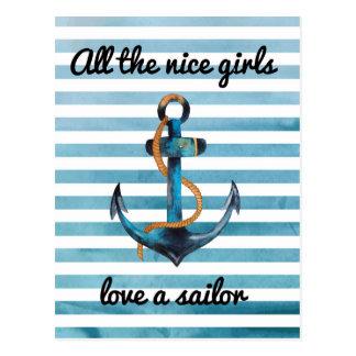 Toutes les gentilles filles aiment une carte