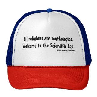 Toutes les religions sont des mythologies casquette