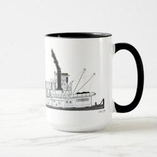 Towboat Alexandre le Mackenzie de vapeur Mug