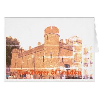 Tower of Londres Cartes De Vœux