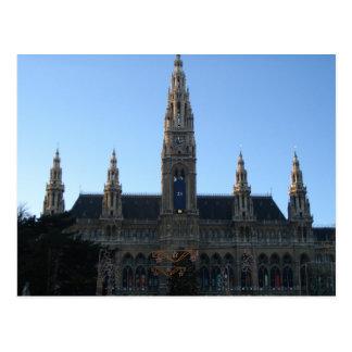 Townhall carte postale à Vienne, Autriche