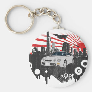 Toyota GT-4 Celica Porte-clé Rond