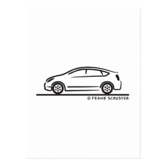 Toyota Prius Carte Postale