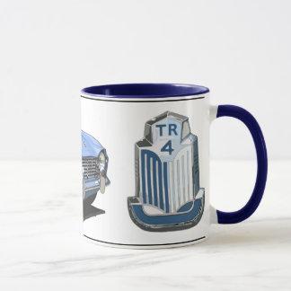 TR4 bleu Mug