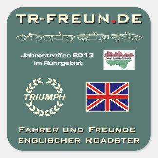 TR-Freunde réunions de 2013 - autocollants
