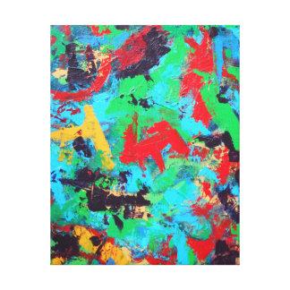 Traçages abstraits peints parMain Toiles