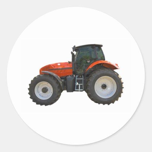 tracteur autocollant