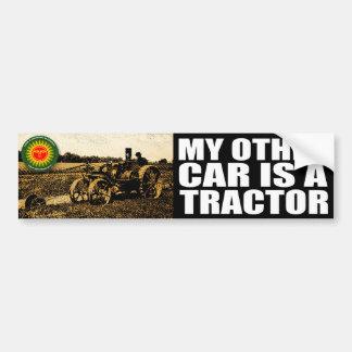tracteur autocollant pour voiture