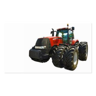 tracteur carte de visite standard